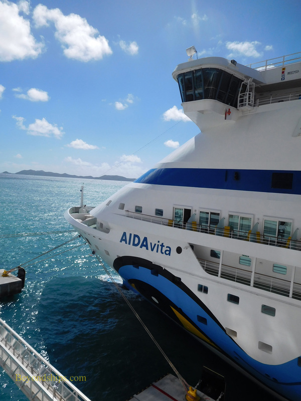 AIDAvita cruise ship (kruezschiffe)