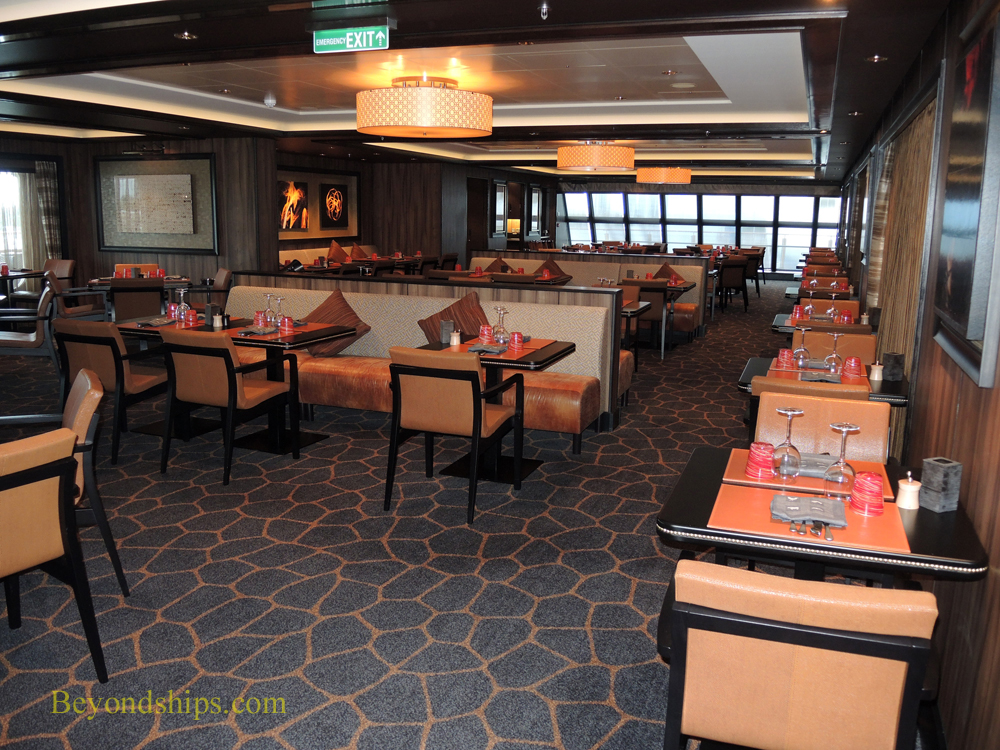 Dining on Norwegian Escape cruise ship