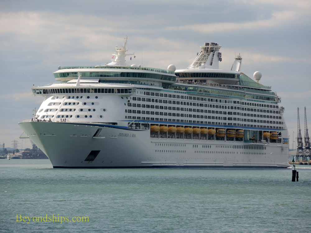 Cruise ship Explorer of the Seas