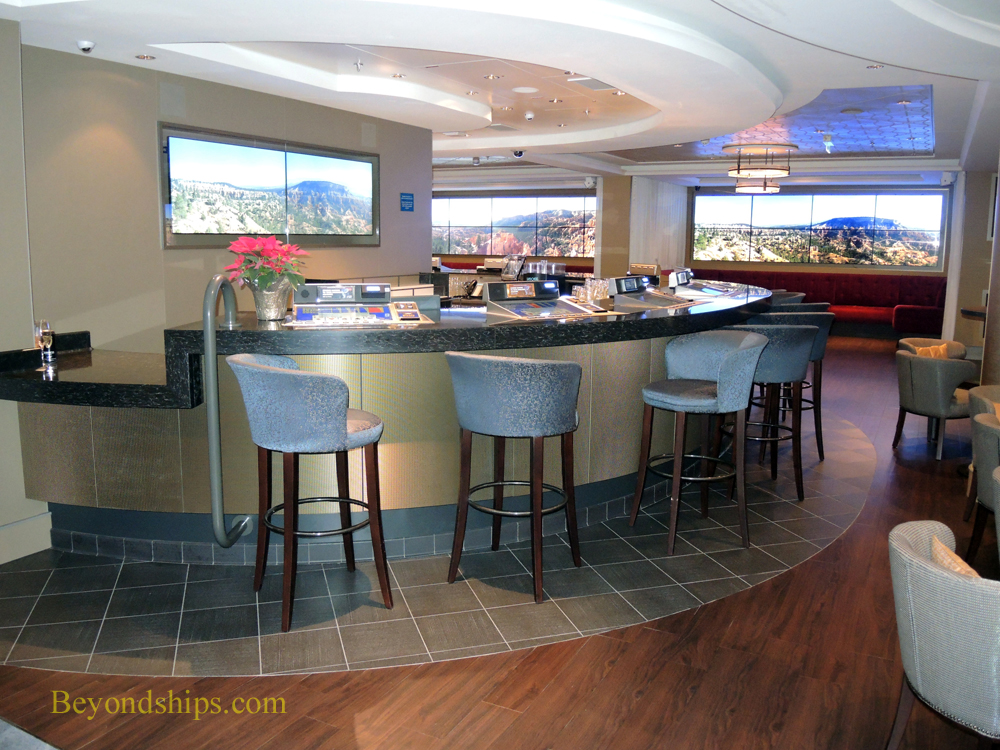 Skyline Bar on Norwegian Escape cruise ship