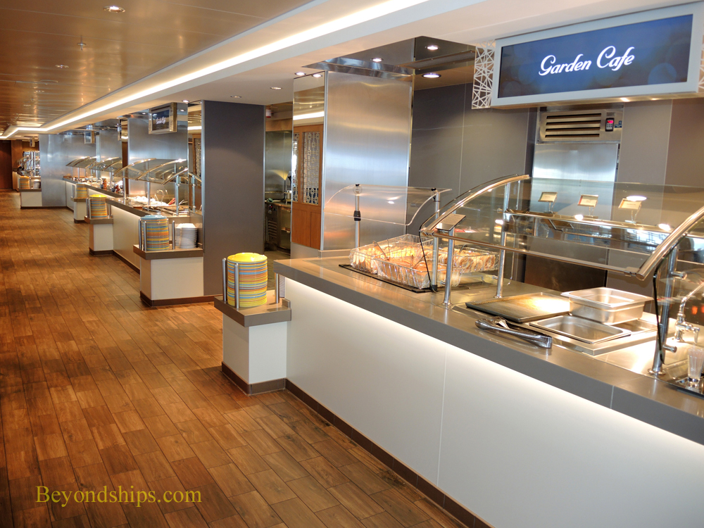 Picture Garden Cafe on Norwegian Escape cruise ship