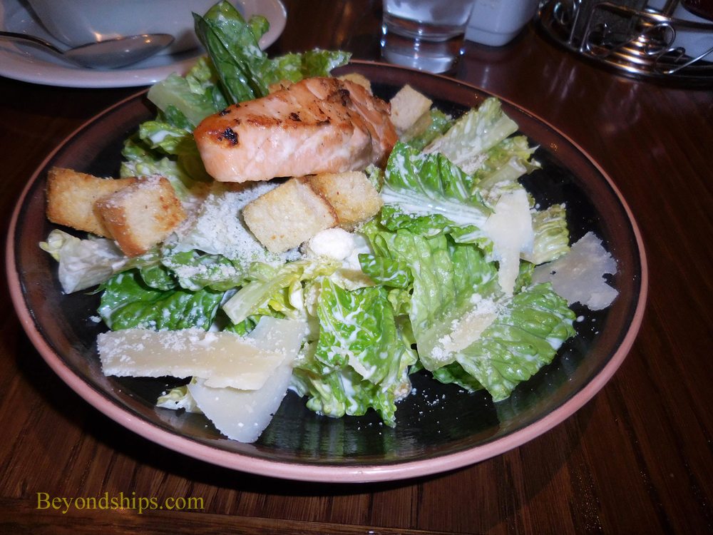 Picture O'Sheehan's salad on Norwegian Escape cruise ship