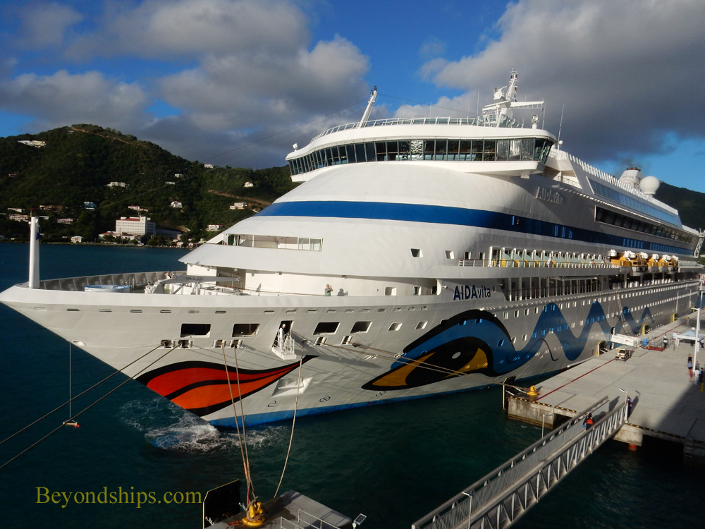 Picture AIDAvita cruise ship (kruezschiffe)