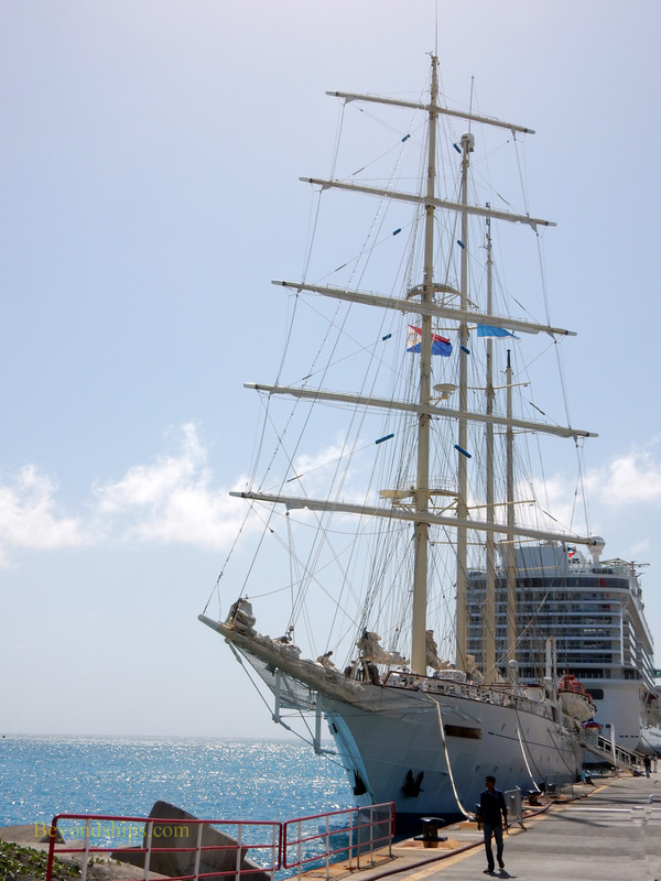Sailing cruise ship Star Clipper