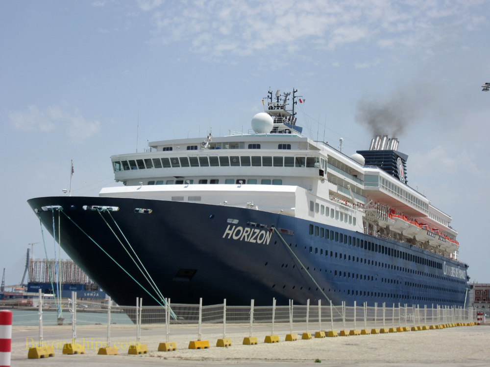 Horizon cruise ship