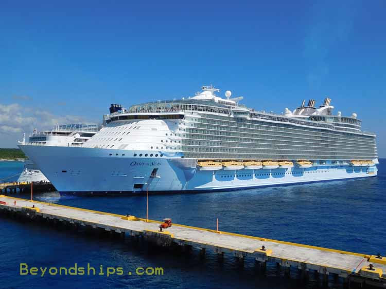 Oasis of the Seas and cruise ship