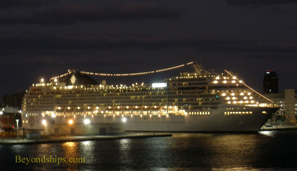 Cruise ship MSC Orchestra