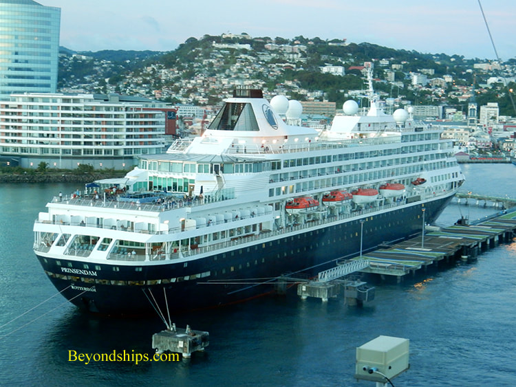 Cruise ship Prinsendam