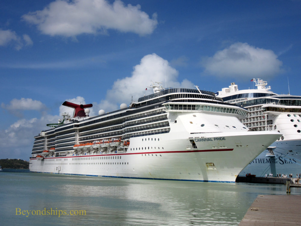 Carnival Pride cruise ship