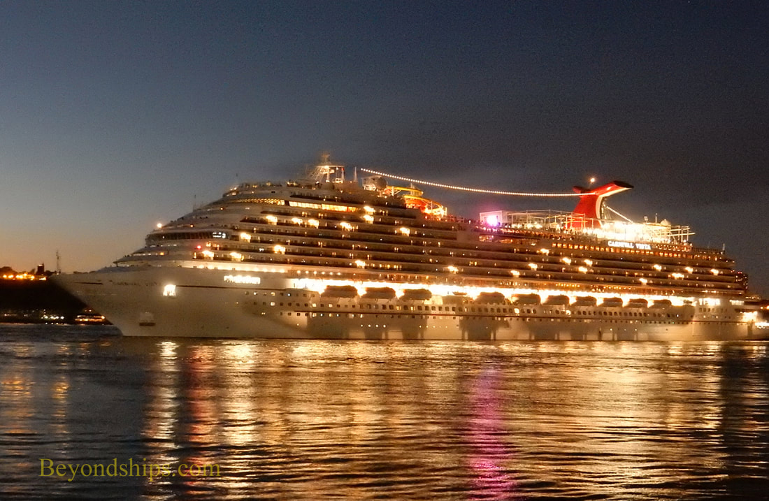 Cruise ship Carnival Vista in New York