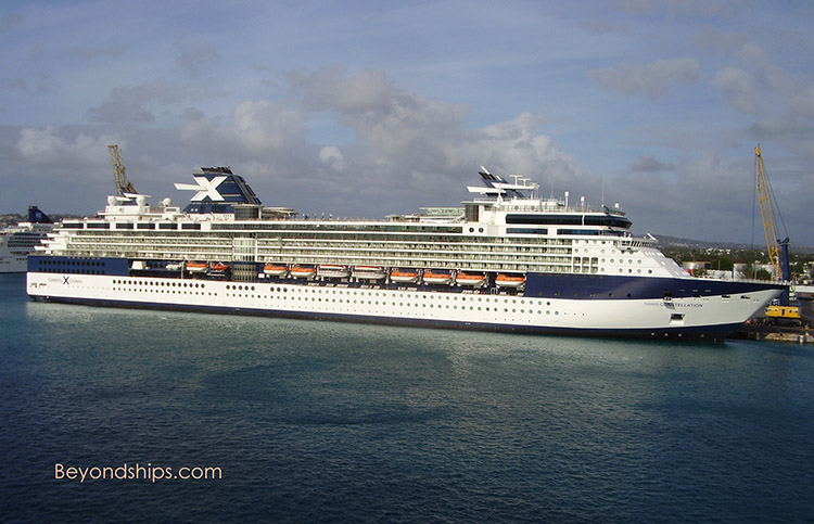 Cruise ship Celebrity Constellation