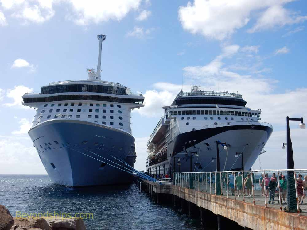 Anthem of the Seas and Celebrity Summit