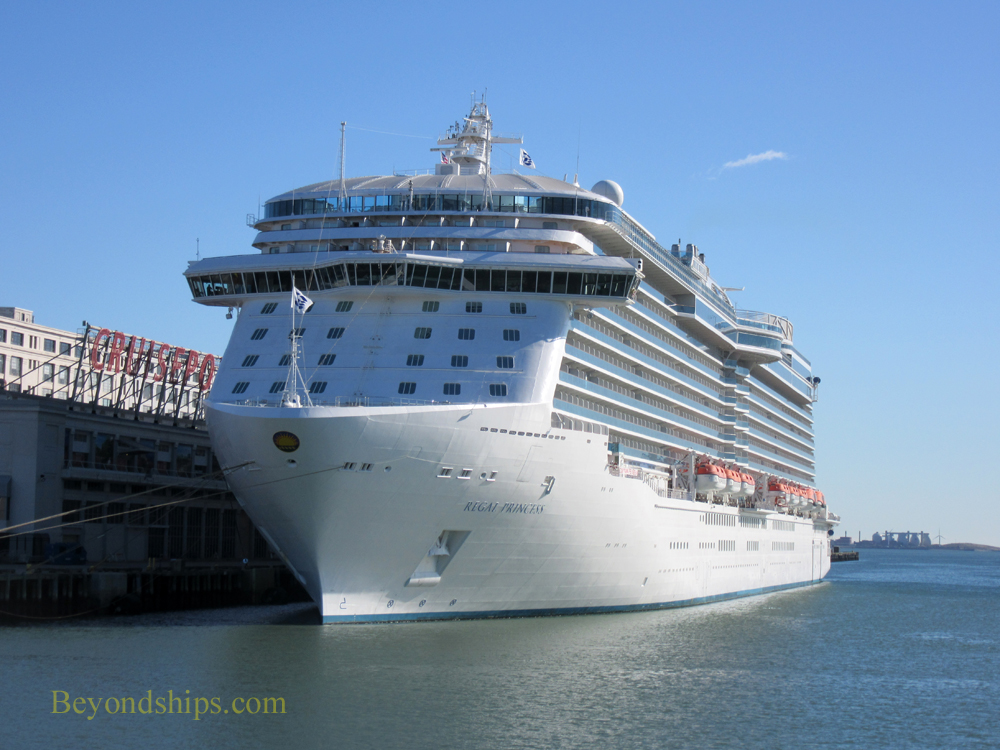 Cruise ship Regal Princess