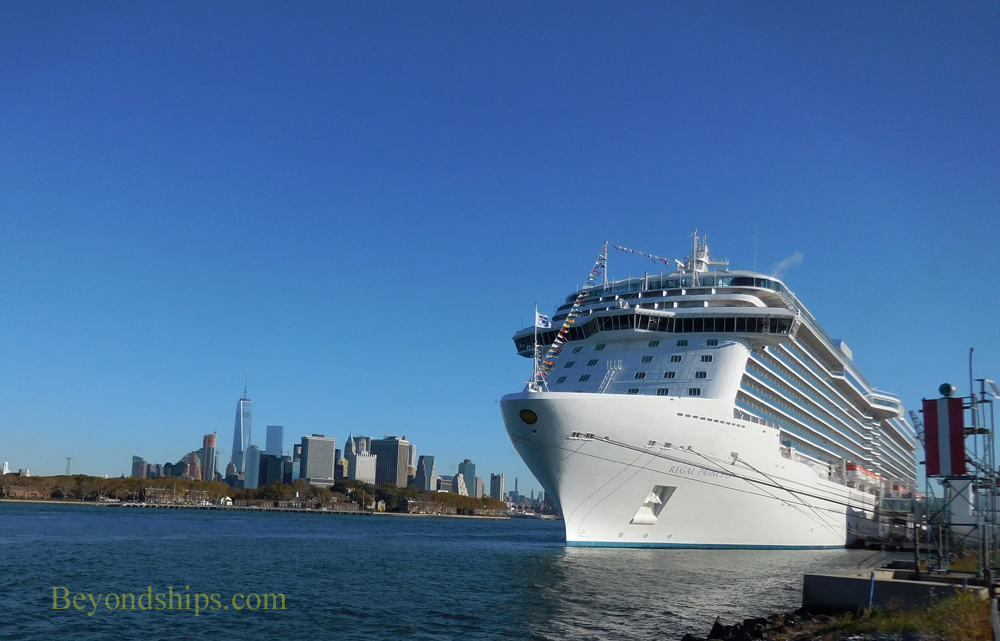Cruise ship Regal Princess in New York City