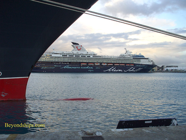Mein Schiff 1 from Queen Mary 2
