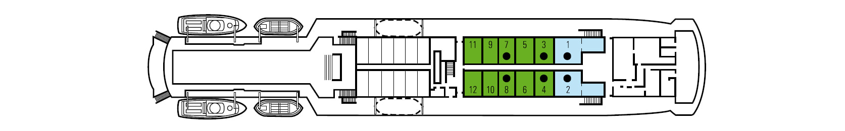 Berlin deck plan