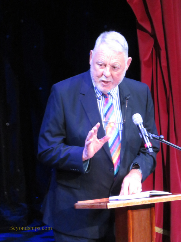 Dr. Terry Waite on Queen Mary 2