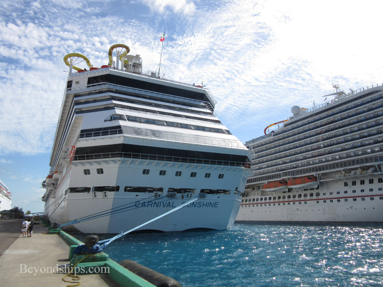 Carnival Sunshine cruise ship