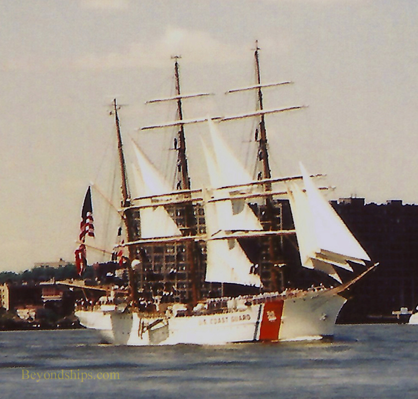USCGC Eagle, tall ship