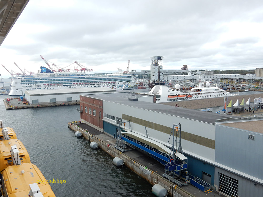 Cruise ships Norwegian Gem and Star Pride in Halifax