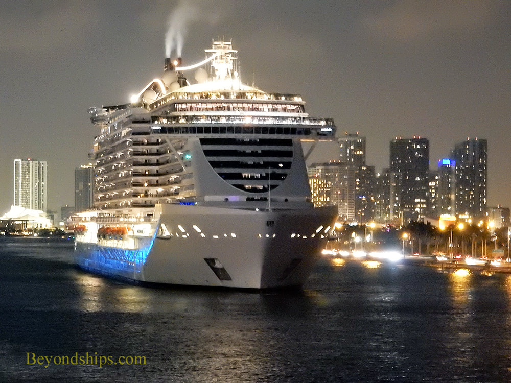 Cruise ship MSC Seaside