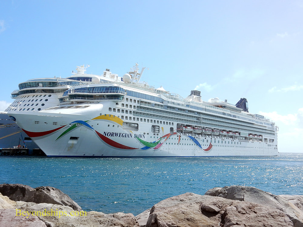 Cruise ship Norwegian Dawn