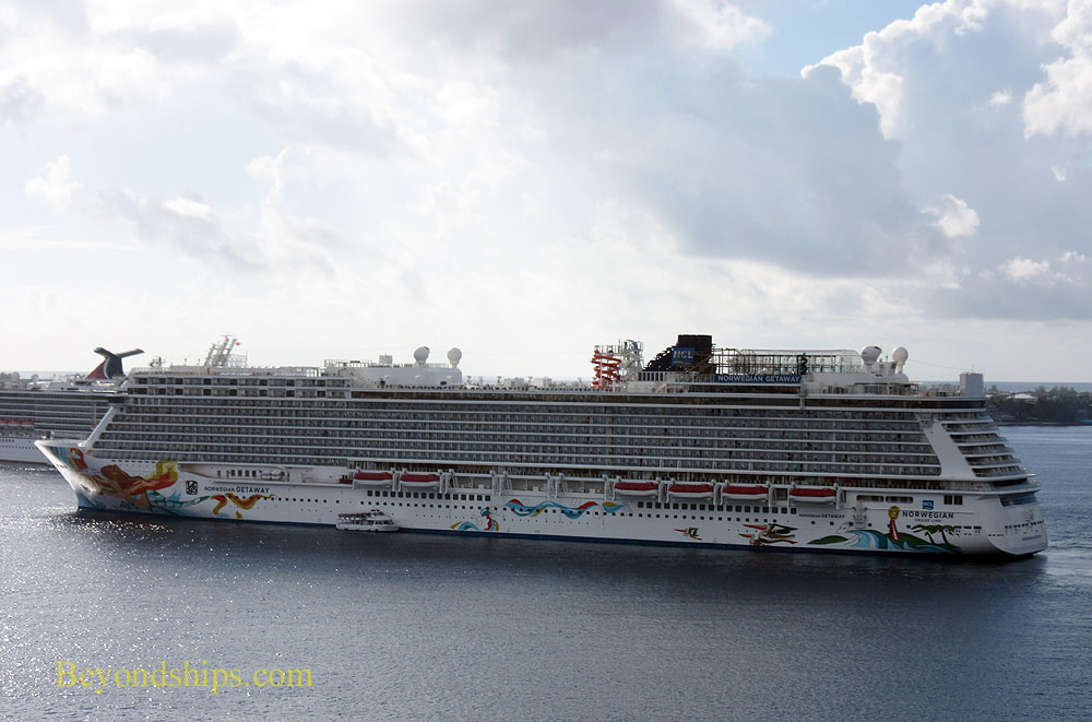 Cruise ship Norwegian Getaway