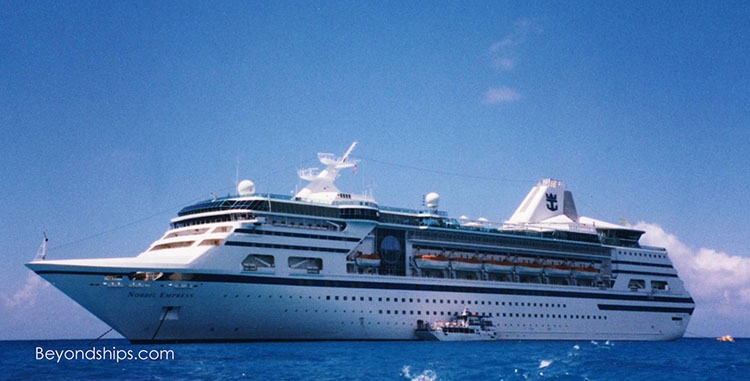 Empress of the Seas cruise ship
