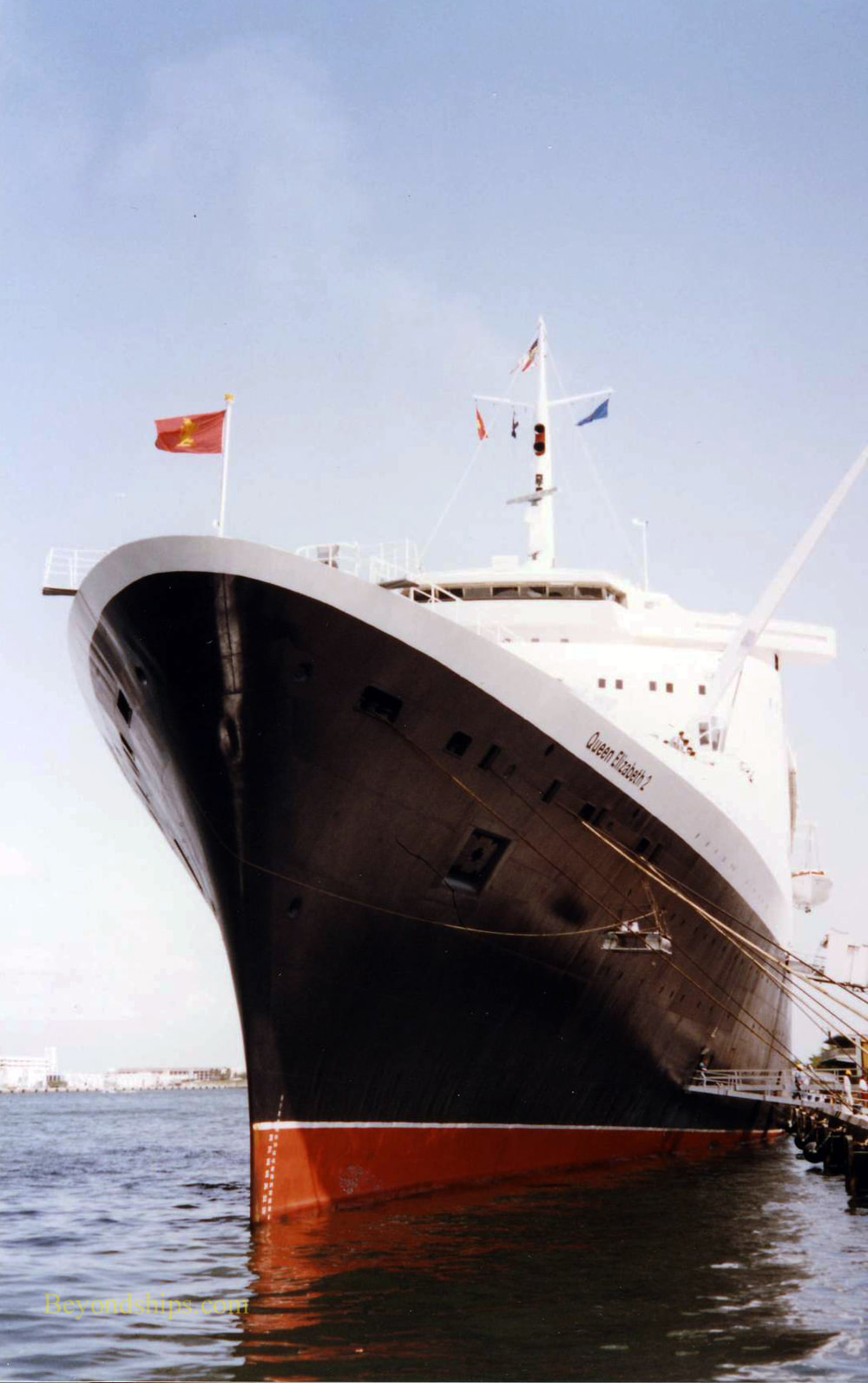 Cruises From Southampton >> QE2 In Fort Lauderdale