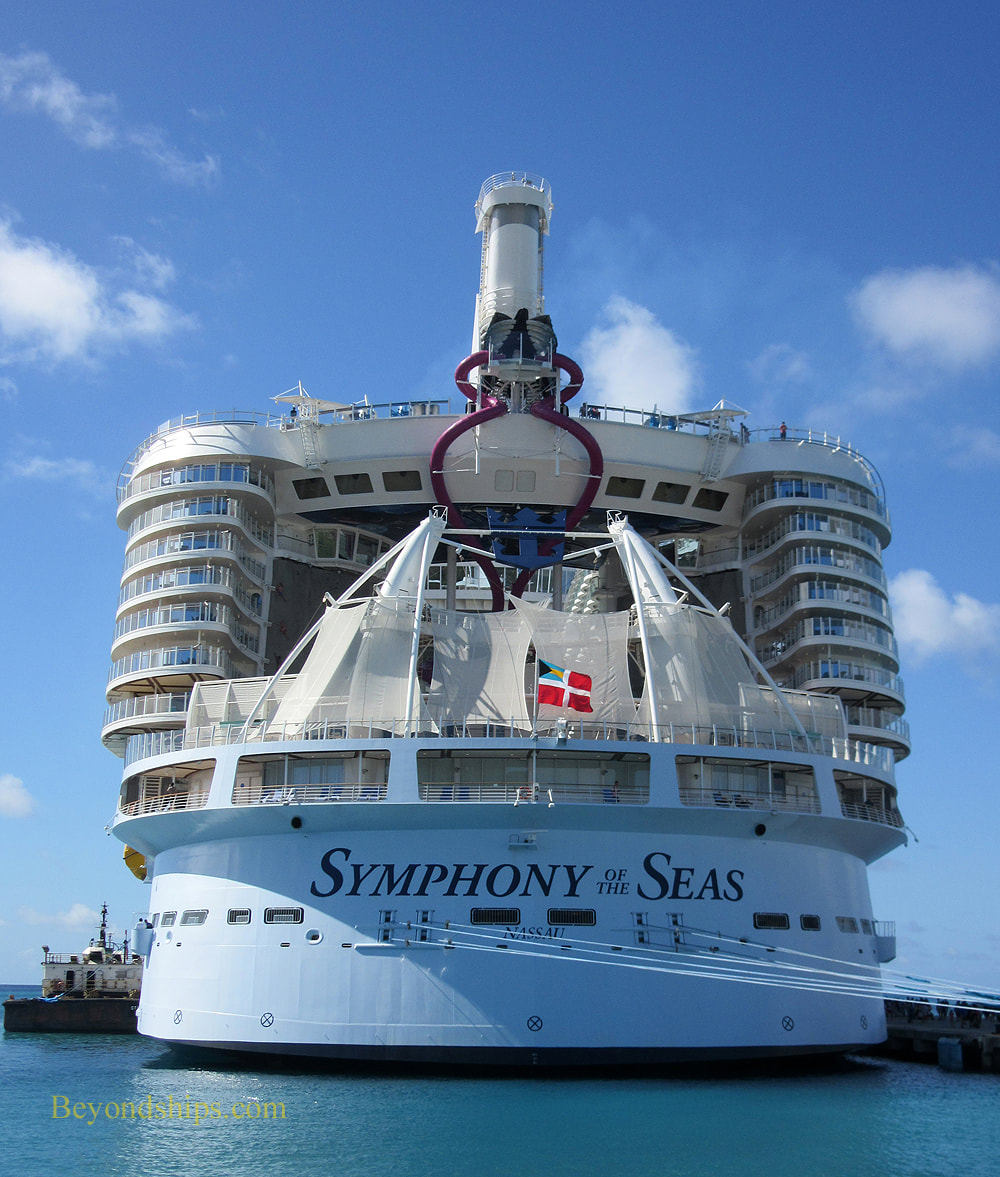 Cruise ship Symphony of the Seas
