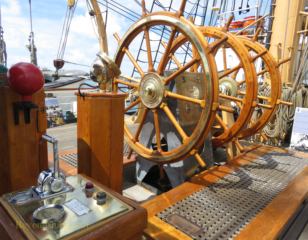 Wheels, USCGC Eagle, tall ship